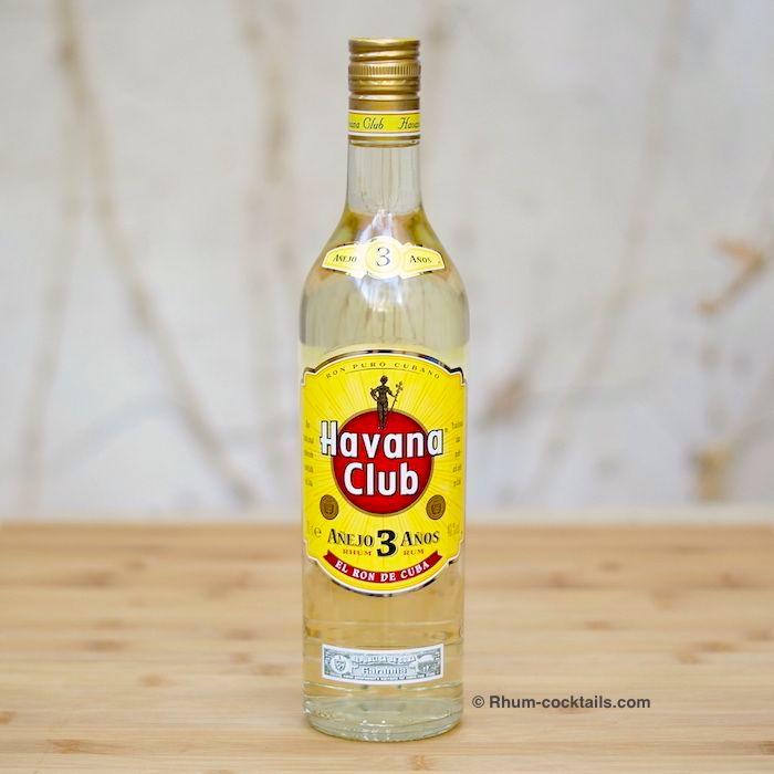 Bouteille de Havana Club 3 años